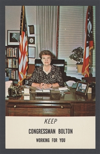 Keep Congressman Bolton Working for You Postcard