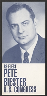 Edward George Biester, Jr. Handbill