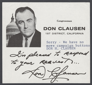 Donald Holst Clausen Note