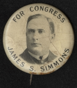 James Samuel Simmons Lapel Pin