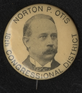 Norton Prentiss Otis Lapel Pin