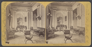 Reception Room House of Representatives Stereoview