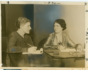 Katherine Gudger Langley and Daughter