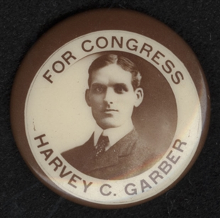 Harvey Cable Garber Lapel Pin