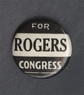 Edith Nourse Rogers Lapel Pin