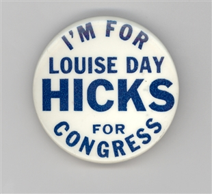 Louise Day Hicks Lapel Pin