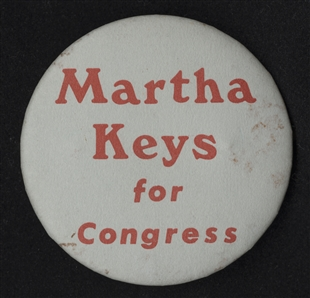 Martha Elizabeth Keys Lapel Pin
