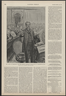 Mr. Allen, of Mississippi, Has the Floor - A Sketch in the House of Representatives