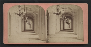 Corridor to the House of Representatives Stereoview