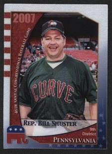 Bill Shuster Baseball Card