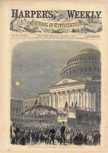 Great War Meeting at Washington, District of Columbia, August 6, 1862