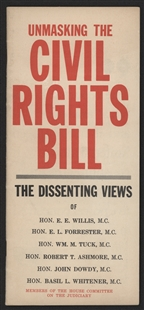 Unmasking the Civil Rights Bill Pamphlet