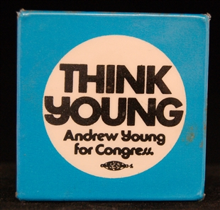 Andrew Jackson Young, Jr. Lapel Pin