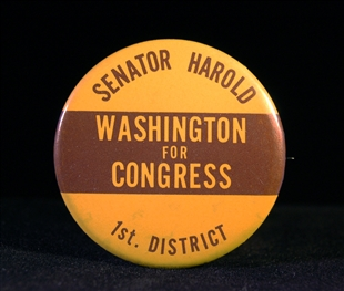 Harold Washington Lapel Pin