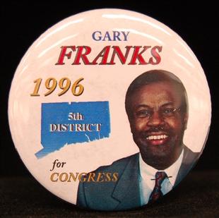 Gary A. Franks Lapel Pin