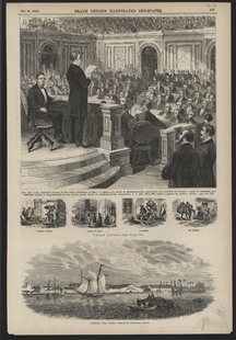 Hon. Ben Wade, Presiding Officer of the Joint Convention of the U.S. Senate and House of Representatives, Announcing the Election of Ulysses S. Grant as President and Schuyler Colfax as Vice-President of the United States