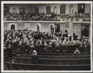 Reconvening of the 74th Congress