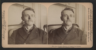 Jeremiah (Jerry) Simpson Stereoview