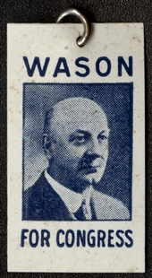 Edward Hills Wason Lapel Pin