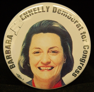 Barbara Bailey Kennelly Lapel Pin