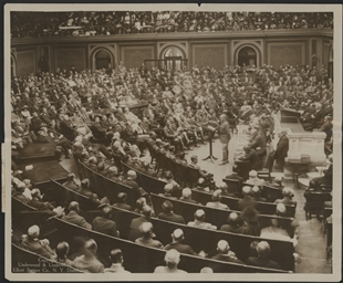 Congress Welcomes General John J. Pershing