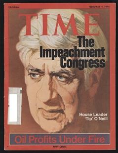 Tip O'Neill, Time Magazine Cover