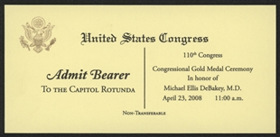 Capitol Rotunda Pass