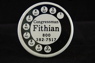 Floyd James Fithian Lapel Pin