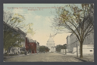 View Looking North From House of Representatives Office Building, Washington, D.C.