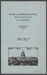 House Restaurant Menu
