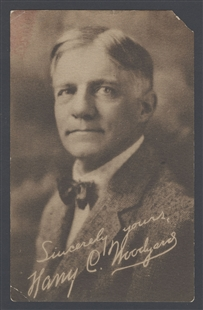 Harry Chapman Woodyard Postcard