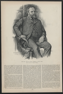 The Hon. John De Witt Warner, of New York