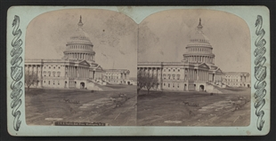 U.S. Capitol, East Front Stereoview