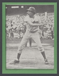Ronald V. Dellums Baseball Card