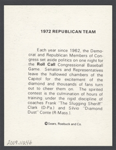 1972 Republican Team