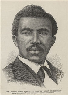 Hon. Robert Brown Elliott, An Eloquent Negro Congressman From Calhoun's Old District, South Carolina