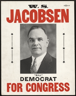 William Sebastian Jacobsen Poster
