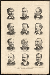 Portraits of the Members of the House Ways and Means Committee, Not Including That of the Chairman, Already Published