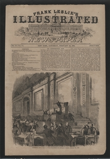 Congressional Row, in the U.S. House of Representatives, Midnight of Friday, February 5th, 1858