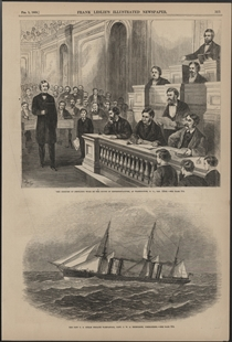 The Censure of Fernando Wood by the House of Representatives, at Washington, D.C., Jan. 15th