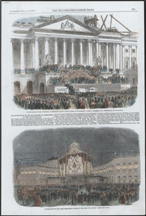 Inauguration of Mr. Buchanan, as President of the United States, at Washington