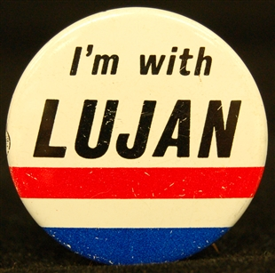 Manuel Luján, Jr. Lapel Pin