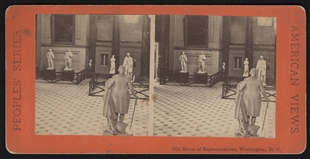Old House of Representatives, Washington, D.C. Stereoview