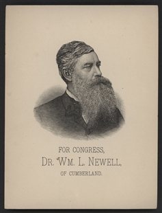 William Newell Campaign Broadside