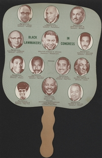 Black Lawmakers in Congress Fan