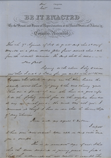 Letter from a Civil War Soldier