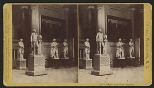 Statuary Hall Stereoview