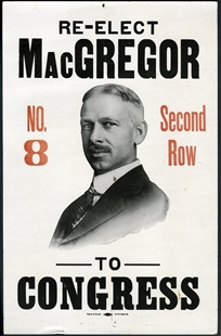 Clarence MacGregor Poster