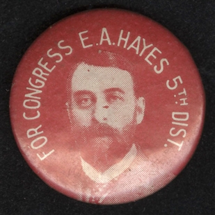 Everis Anson Hayes Lapel Pin