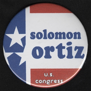 Solomon P. Ortiz Lapel Pin